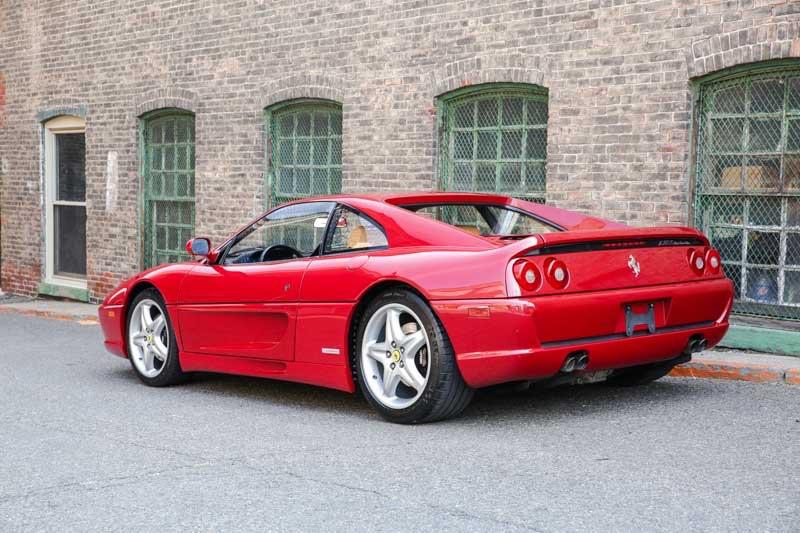 1995 Ferrari F355 Gtb Gtb Rossa Barchetta