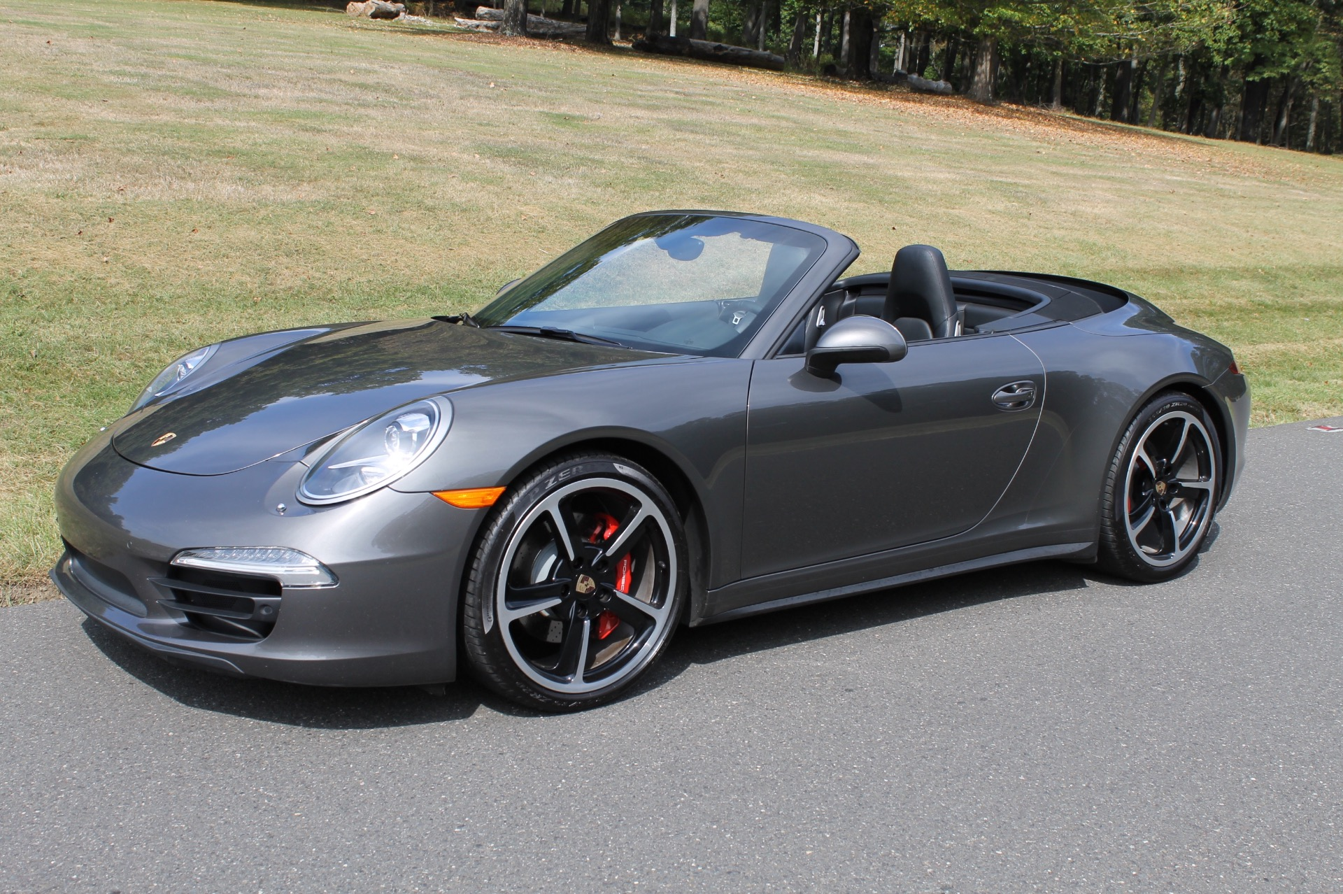 2014 porsche 911 carrera 4s 35 979 miles agate grey metallic convertible used porsche 911 for. Black Bedroom Furniture Sets. Home Design Ideas