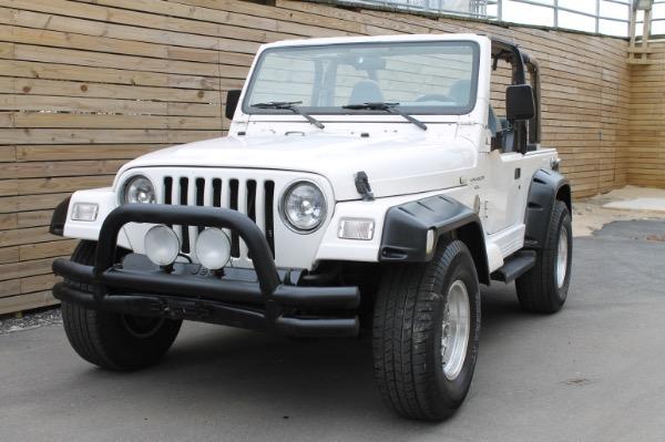 1999 Jeep Wrangler Sahara Automatic