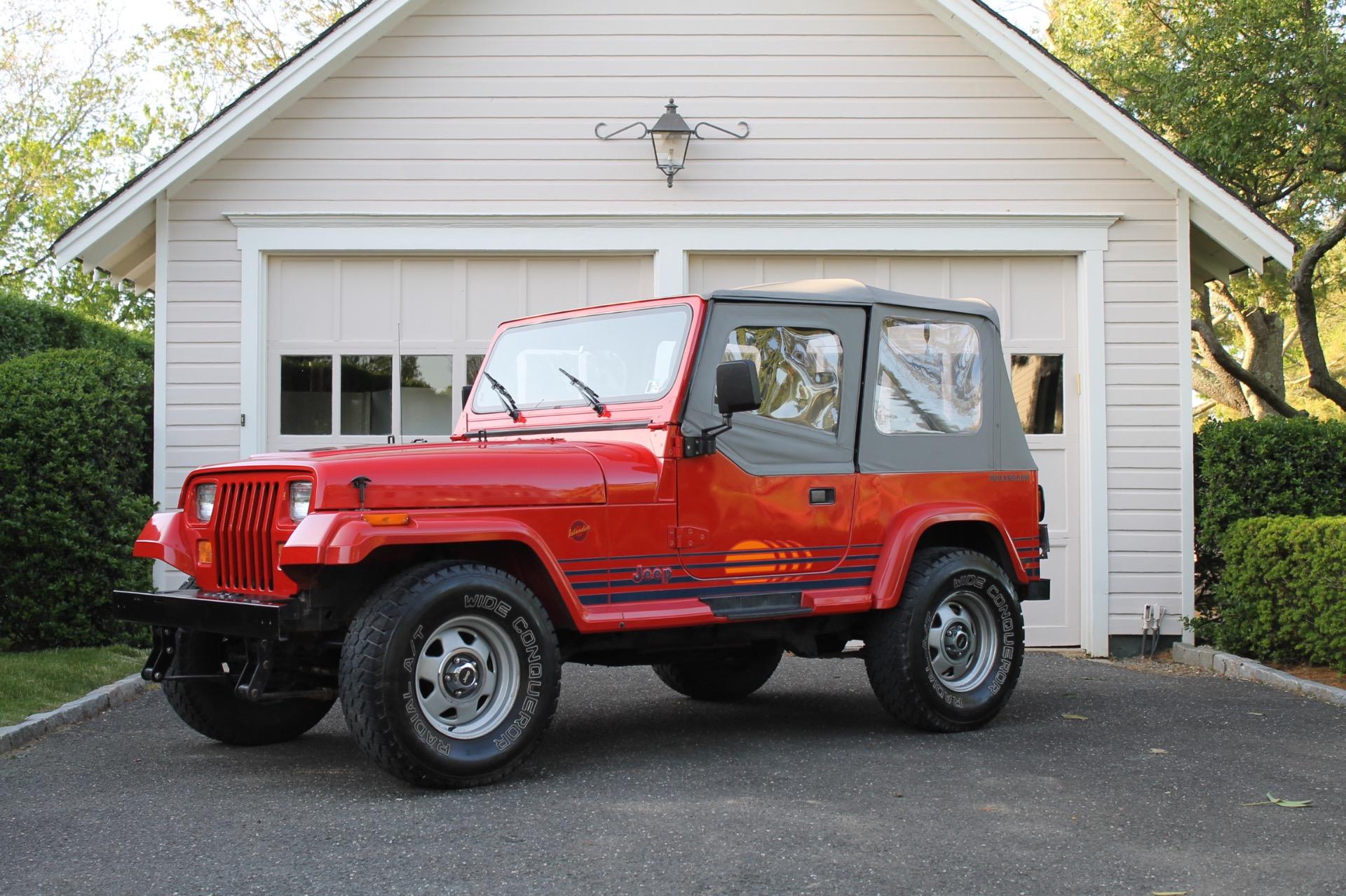 1989 Jeep Wrangler Islander Islander