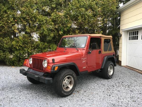 1999 Jeep Wrangler Sport Automatic